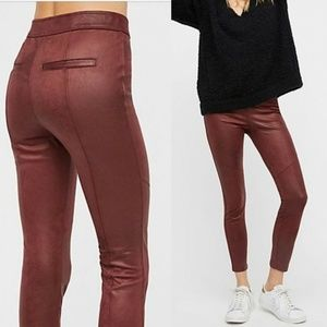 Free People Vegan Suede Skinny Pants HW6268